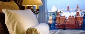Отели Москвы были заполнены почти на 100 процентов в апреле